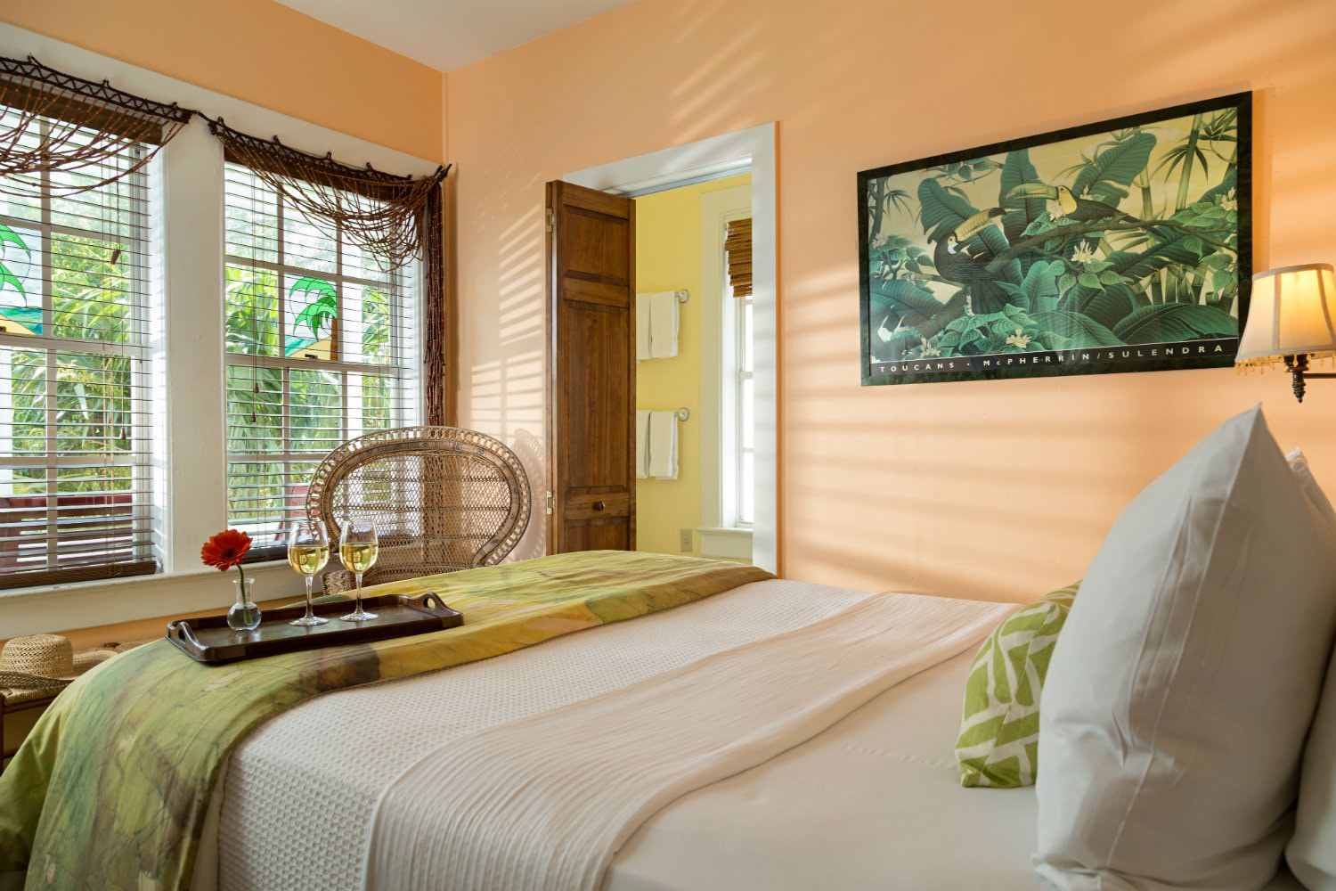 Classic Bedroom Escape Affordable Florida Keys Bed And Breakfast Accommodations In Key West