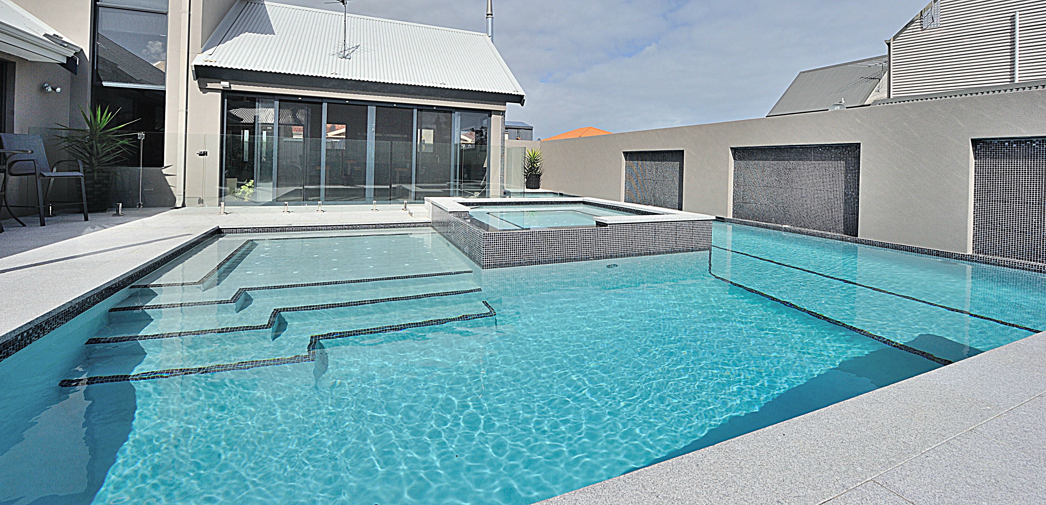 Piscinas Con Jardin Gallery- Tropical Pools Perth | Best Swimming Pool Designs