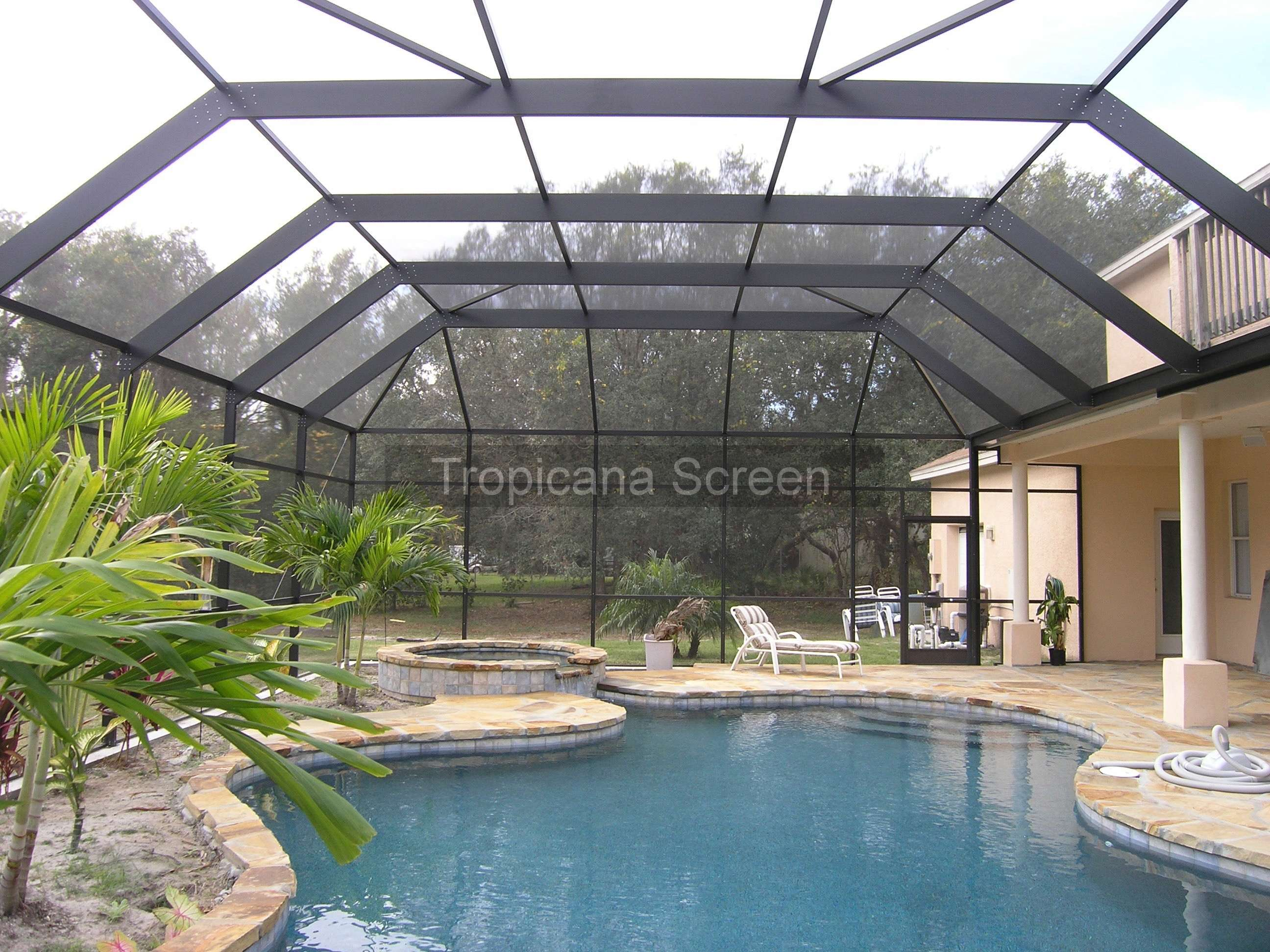 Glas Pool Durable Aluminum Pool Enclosures A Cost Effective Option For