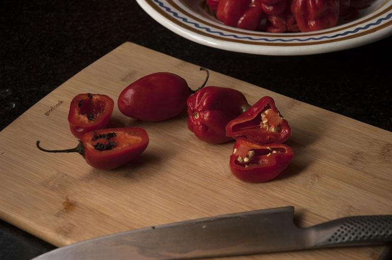 Hot Pepper Mash