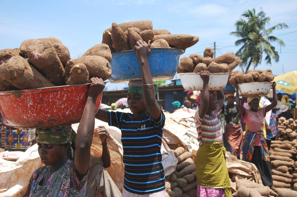 Fufu, Ghana, West Africa, Yams