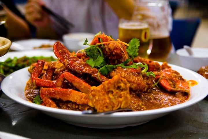 Chilli crab, chili crap, Signapore, seafood, recipes, chilli mud crab