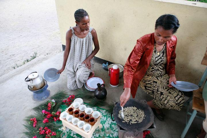 Ethiopian coffee ceremony, coffee, travel, tropicsgourmet, off the beaten path