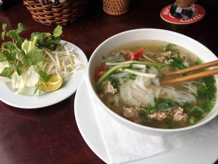vietnamese food, vietnam, pho
