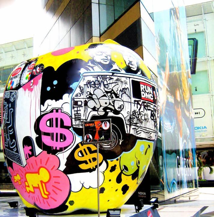 cultural immersion, street art, Bangkok, Thailand