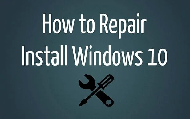 How to Repair Install Windows 10 Easily - Troubleshooter - windows repair install
