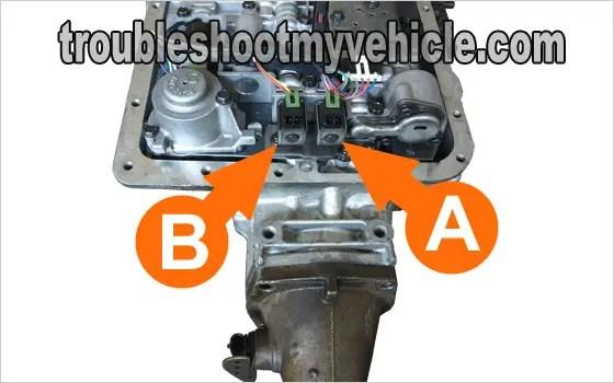 2000 Blazer 4l60e Auto Transmission Shift Solenoid Diagram new