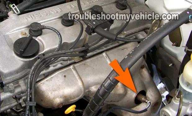 Part 1 -How to Test the Oxygen Sensor (Nissan 24L)