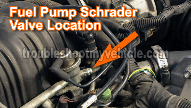 Ford 3 0 V6 Fuel Pressure Regulator Location - wiring diagrams image