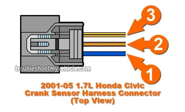 Part 2 -How to Test the Crank Sensor (2001-2005 17L Honda Civic)