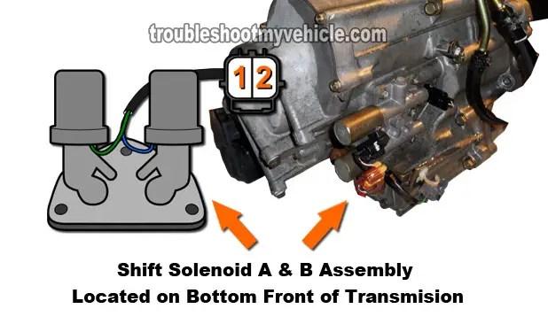 Part 1 -Shift Control Solenoids A and B Tests (2001-2005 17L Honda