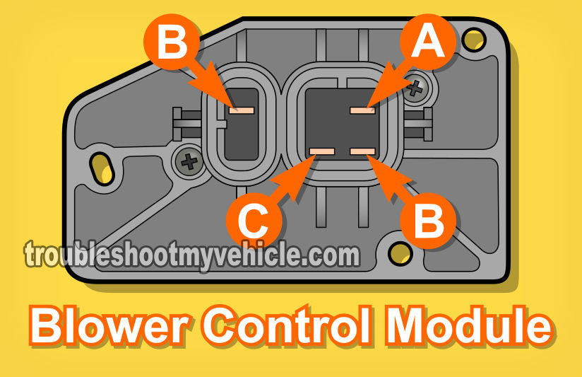 Part 1 -How to Test the Blower Control Module (GM 38L)