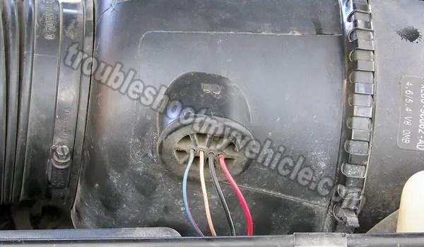 MAF Sensor Wiring Diagram (1997-1999 Ford 46L, 54L)