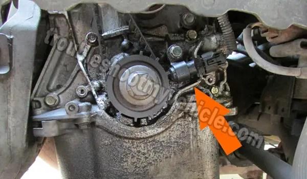 Crank Sensor Wiring Diagram (2001-2005 17L Honda Civic)