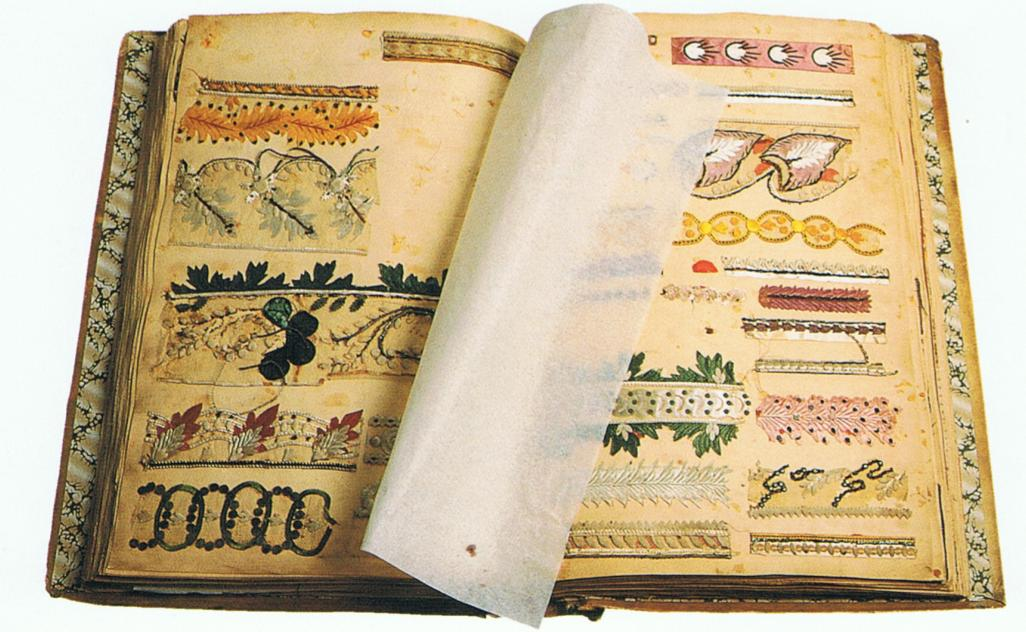 letters of recommendation format%0A Lace sample book ca      Museum Retournac ANTIQUE AND ANTIQUEY  sample  paper