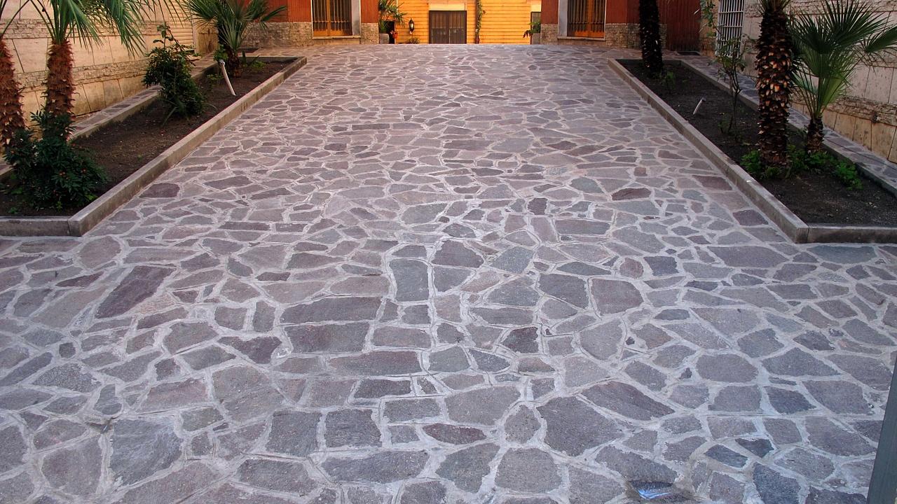 Pavimenti in porfido per esterni pavimenti per esterni carrabili