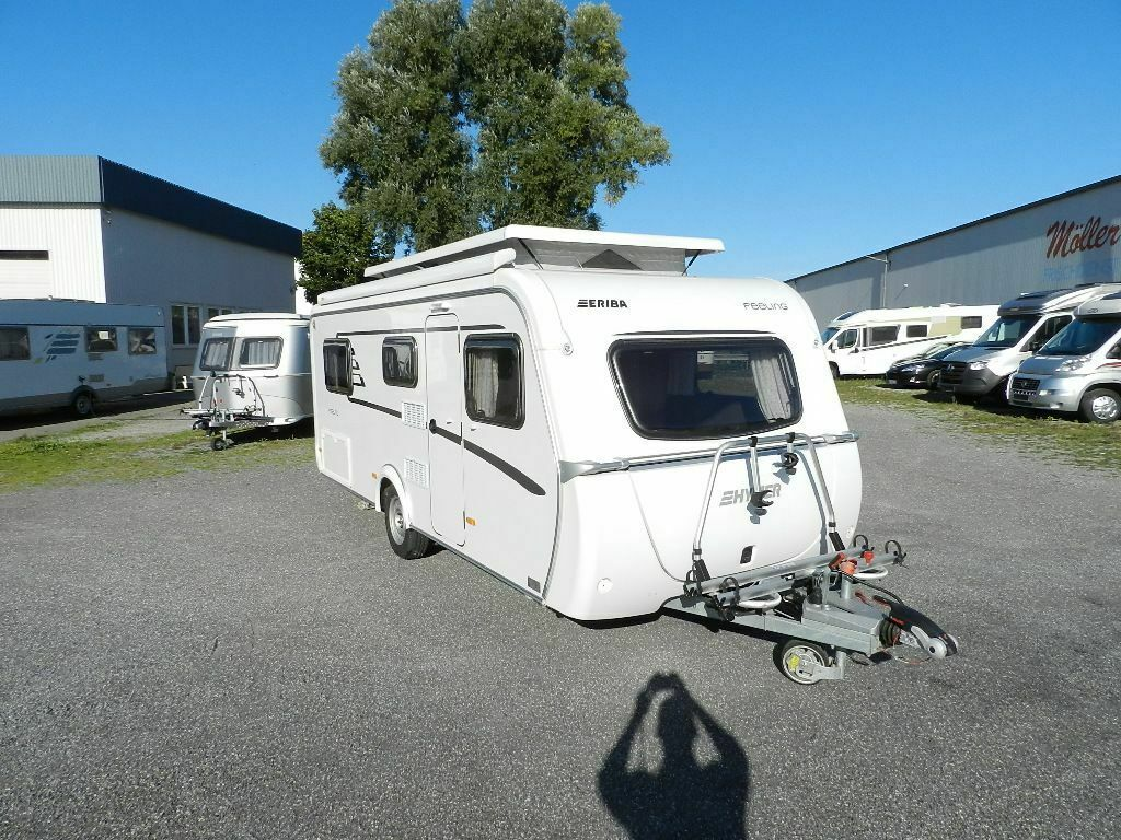 Travel Trailer Hymer Eriba Hymercar Feeling 442 Top Ausstattung 23623 Usd Truck1 Id 4835259