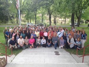 """Community members at the first """"One Truckee River Plan"""" meeting in fall 2015."""