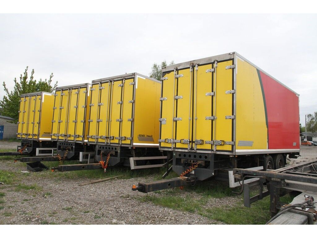 Wielton Trailer Pc 2 Isothermal Container Box Refrigerated Trailer Trucksnl