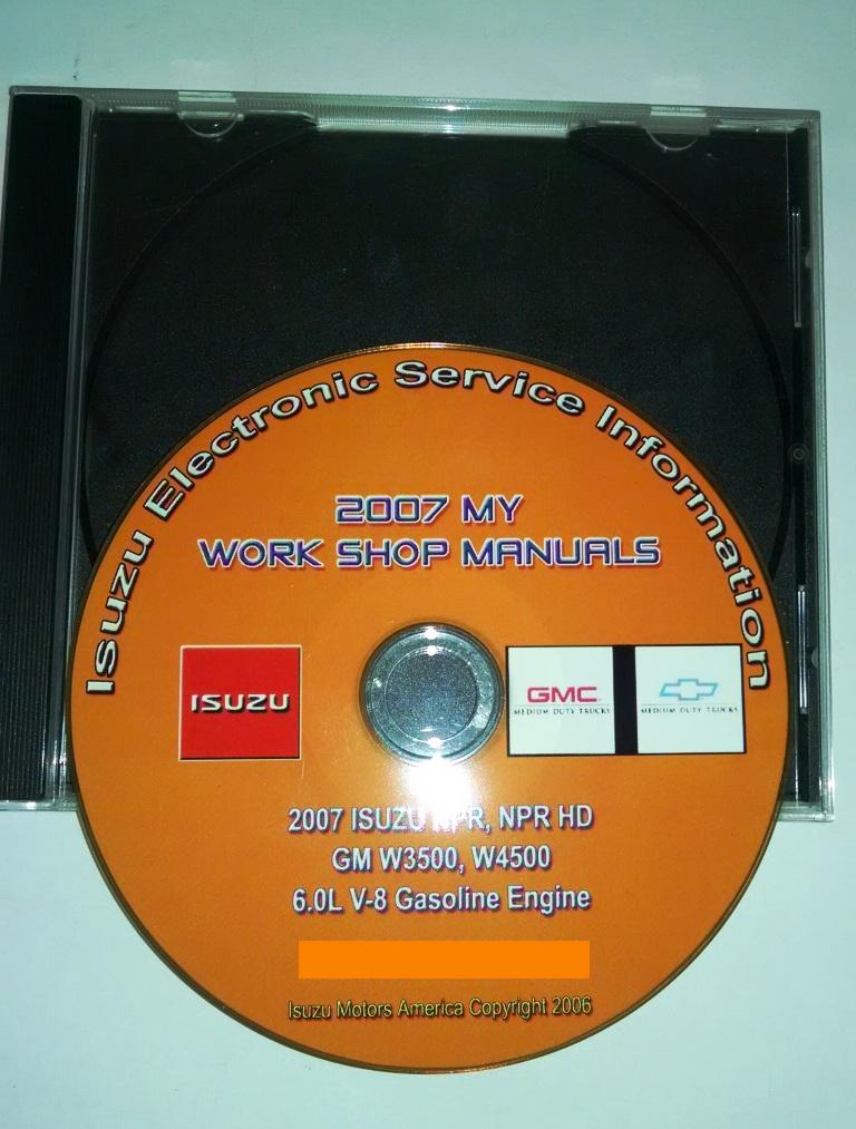 2007 NPR/NPR HD W3500/W4500 60L GAS CD SERVICE MANUAL \u2013 Truck Tech Help