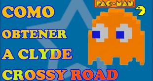 Desbloquear a Clyde Crossy Road Pacman