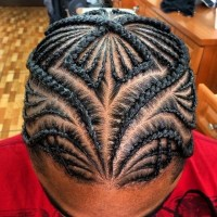 Hair braiding styles for men