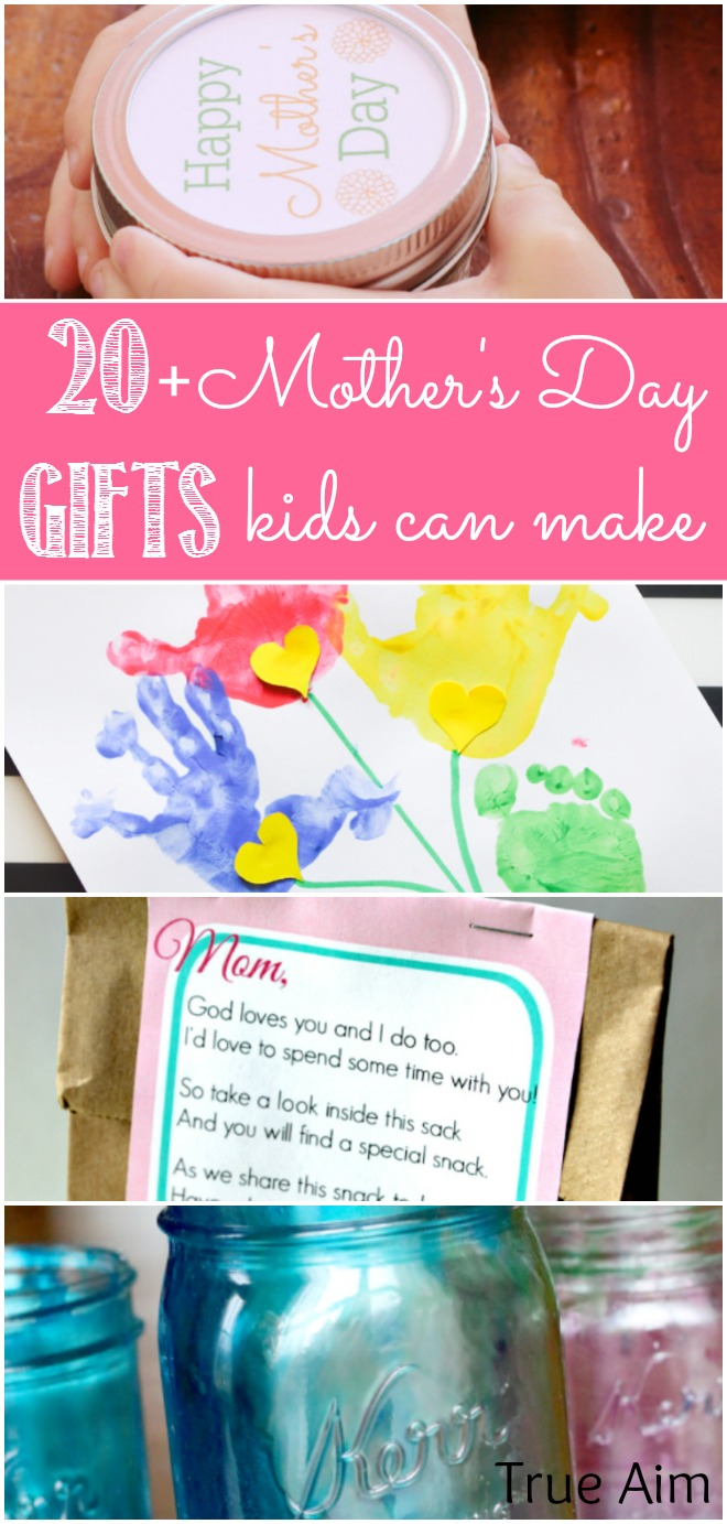 Awesome Diy Mother's Day Gifts 20 Mother S Day Gifts Kids Can Make True Aim
