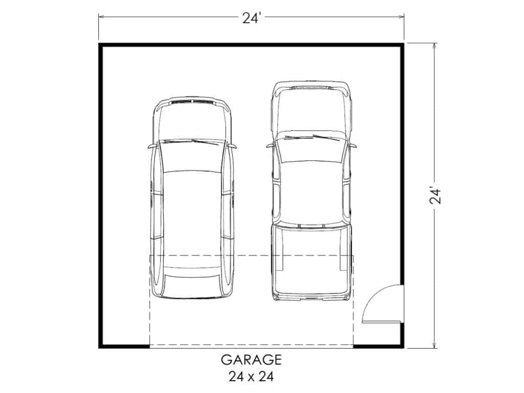 electrical plan garage