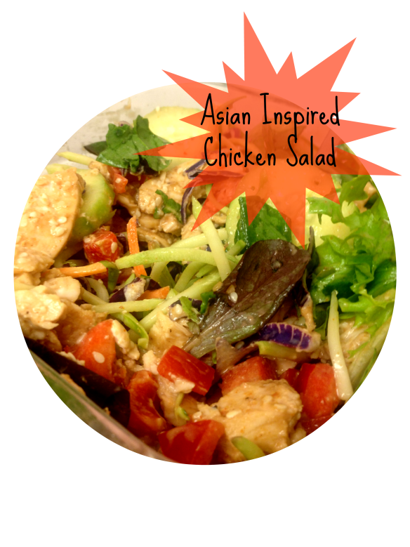 asian inspired chicken salad