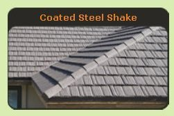Coated Steel Shake Metal Roof - Click to See Examples