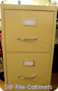 Spray Paint File Cabinet | Gypsy Soul