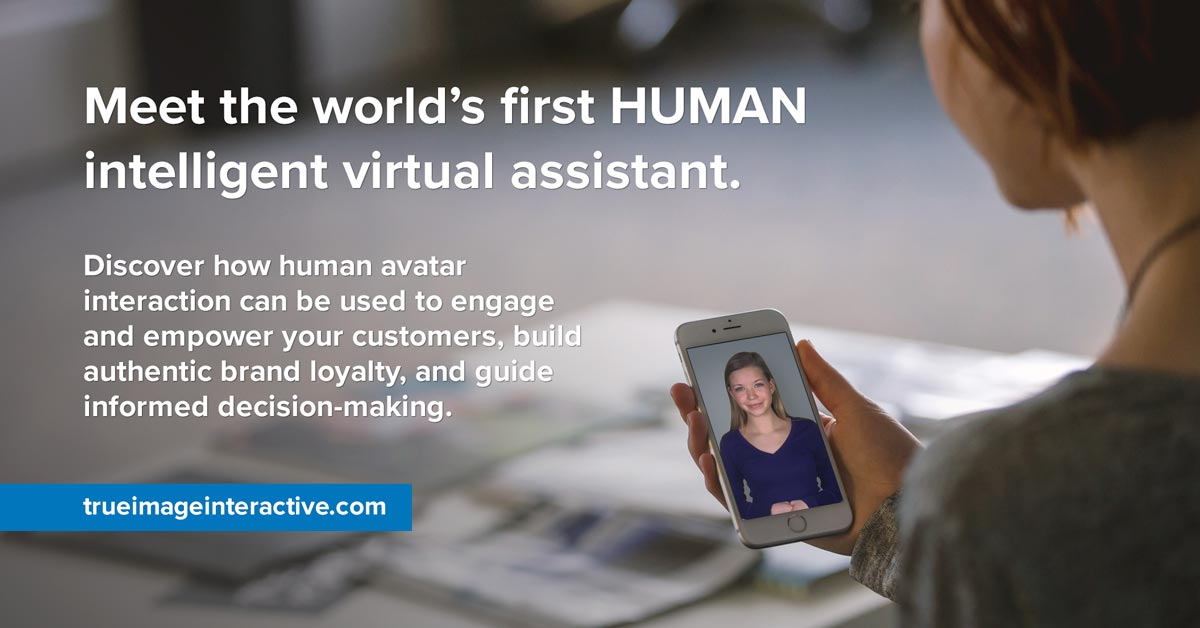 Retail Self-Service with a Human Intelligent Virtual Assistant