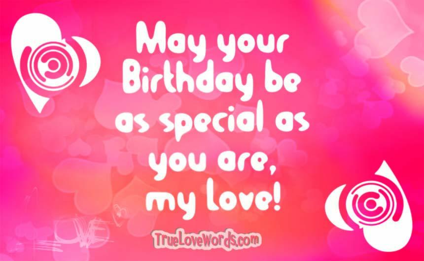 35 Sweet Birthday Wishes For Girlfriend » True Love Words