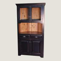 Kitchen China Cabinet Hutch. China Dishes Display In China ...