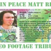 Matt Reason Tribute Video