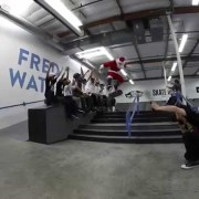 Next Up Foundation Christmas Session at TransWorld SKATEboarding 2014