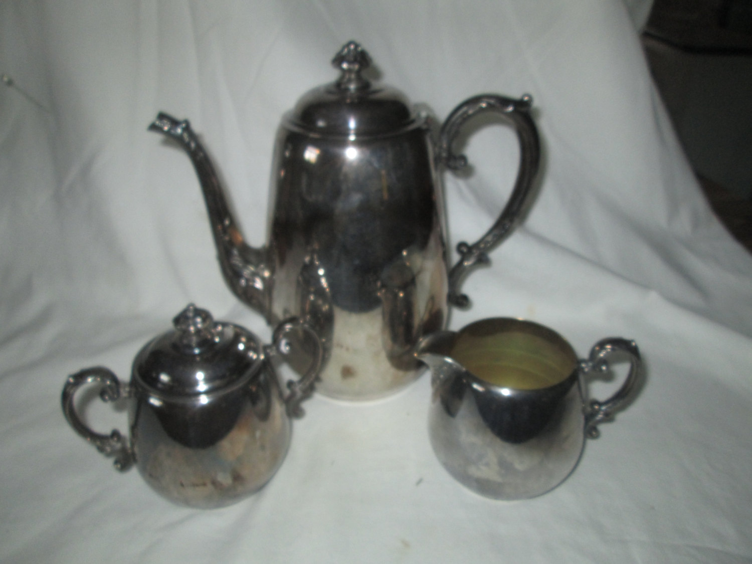 Beautiful Teapot Beautiful Ornate Teapot Tea Pot With Creamer Cream And