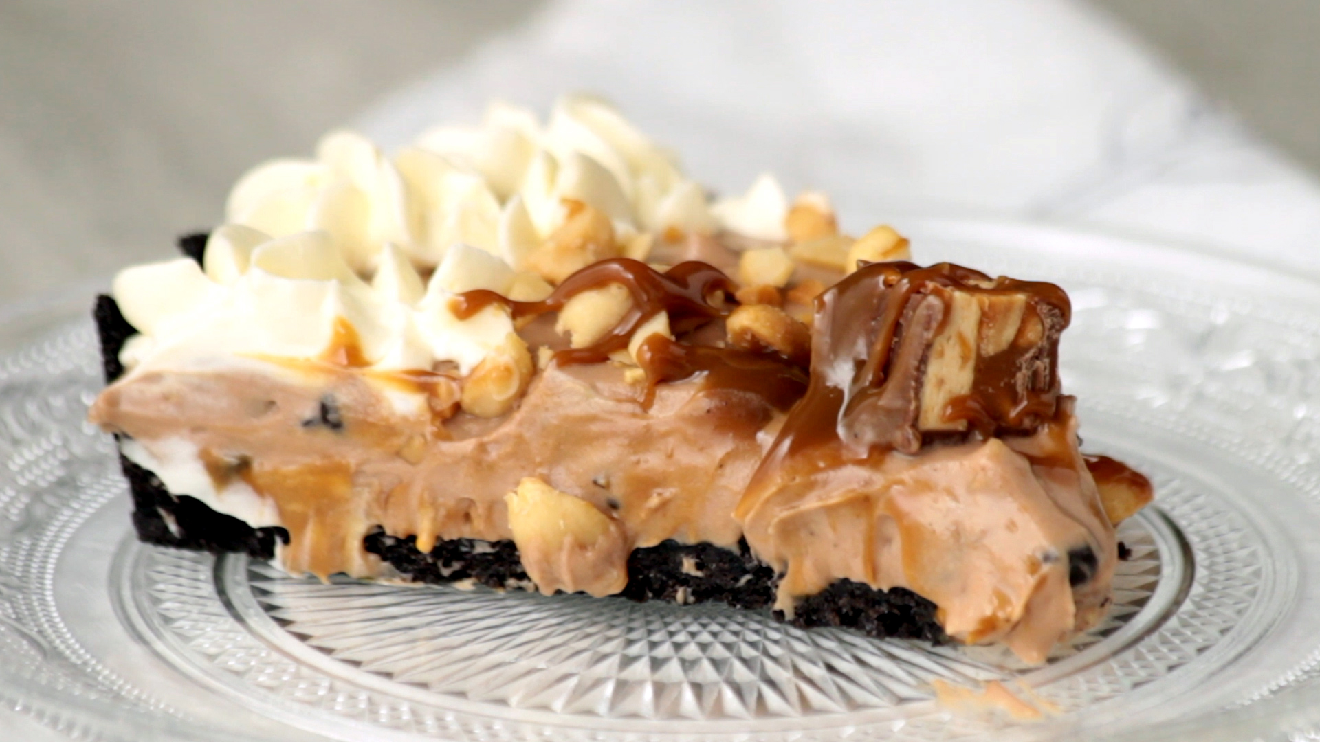Snickers Kuchen Torte No Bake Nutella And Snickers Pie