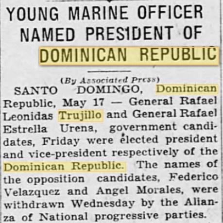 1930 win-trujillo US marine article 5