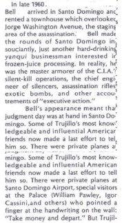 werbell arrives in DR article for assassination