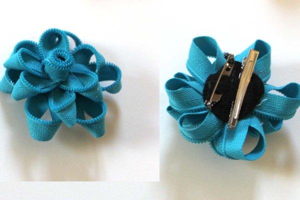 Zipper Flower Pin Giveaway