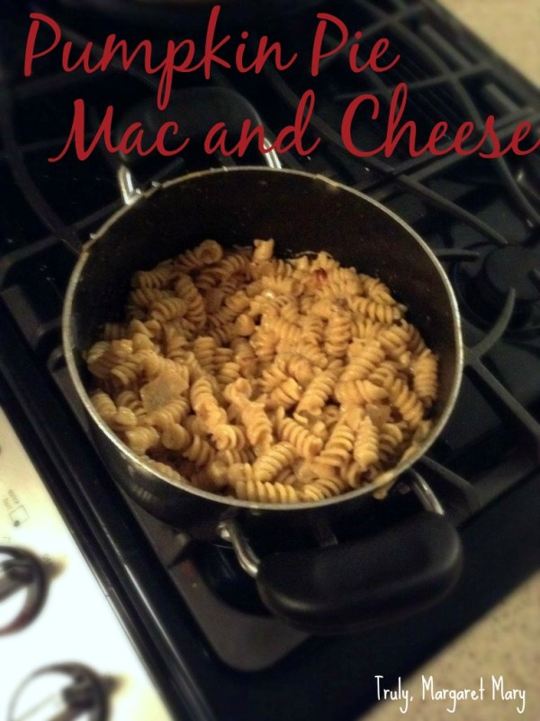 Pumpkin Pie Macaroni and Cheese