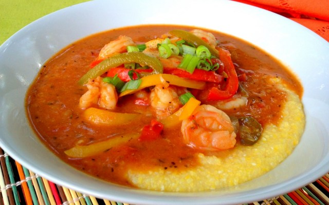 Healthy Shrimp and Grits – A Perfect Post SC Vacation Meal