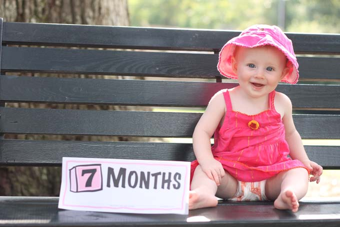Seven Month Old Baby, Boone Hall Plantation, Charleston, SC