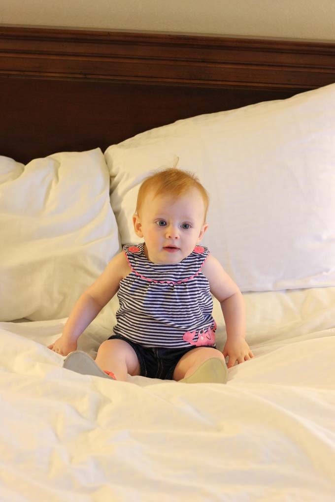 Baby at Doubletree Columbia, SC