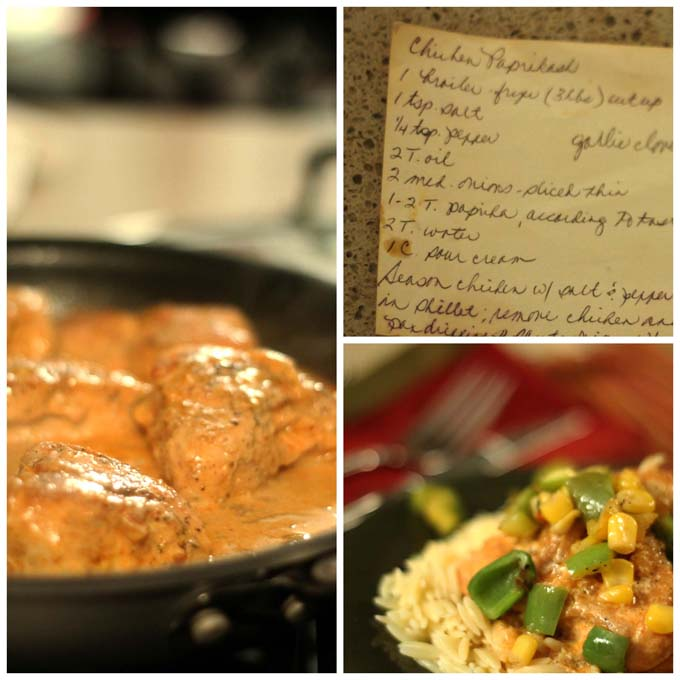 Chicken Paprikash Updated Recipe
