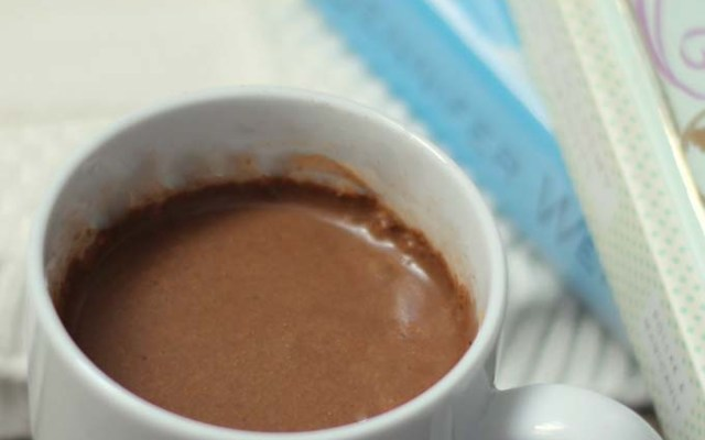 Hot Chocolate from 100 Days of Real Food Hits All The Marks