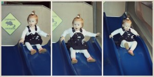 SLIDES ARE SO MUCH FUN!