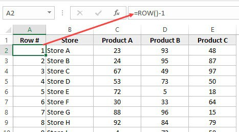 7 Quick  Easy Ways to Number Rows in Excel » Trump Excel