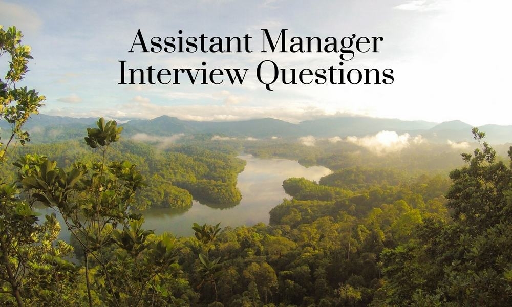 assistant nurse manager interview questions